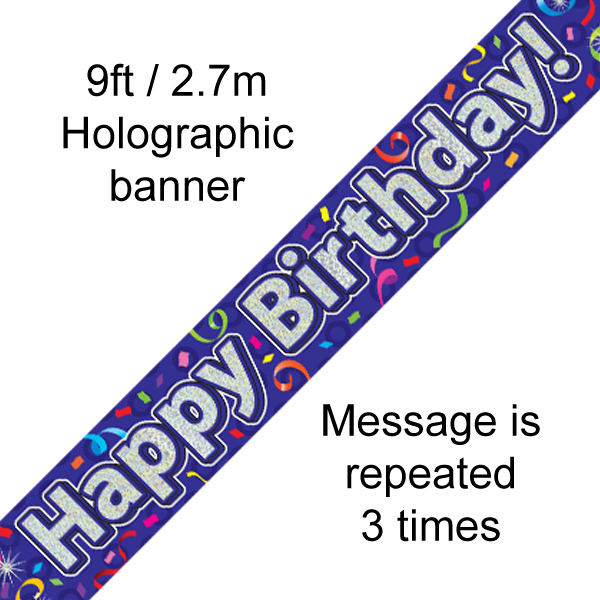 624016 HBD Streamers Banner